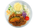 ファミリーマート ソイスタイル 大豆ミートのサラダ キーマカレー風