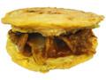 ファミリーマート お好み焼きバーガー イベリコ豚