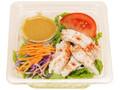 ファミリーマート 野菜ドレで食べるたっぷり蒸し鶏のサラダ 増量