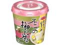 エースコック スープはるさめ 不二の梅こぶ茶味 カップ18g