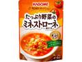 カゴメ たっぷり野菜のミネストローネ用ソース 袋240g