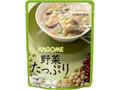 カゴメ 野菜たっぷりスープ 豆のスープ 袋160g