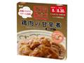 キユーピー レンジクック 鶏肉の甘辛煮 黒酢仕立て 箱70g