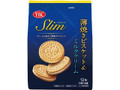 YBC スリムサンド 薄焼きビスケット&ミルククリーム 袋3枚×4