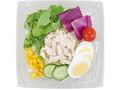 ローソン 玉子と蒸し鶏の彩り野菜サラダ