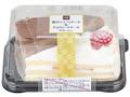 ローソン Uchi Cafe' SWEETS 苺のショート&チョコレートケーキ