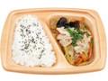 ローソン 塩麹でまろやか 肉野菜炒め弁当 国産野菜