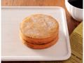 ローソン 大豆粉の厚焼きパンケーキ アガベシロップ入りメープルソース