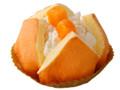 ローソン ドームケーキ 白桃ソース