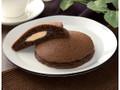 ローソン もちっとチョコパンケーキ チョコクリーム&アーモンドホイップ 2個入