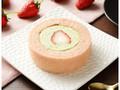 ローソン プレミアム苺とピスタチオクリームのロールケーキ もういっこ苺トッピング