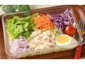 ローソン 玉子と蒸し鶏のサラダ