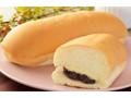 ローソン もっちりとしたコッペパン 北海道産小豆の粒あん&マーガリン
