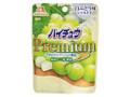 森永製菓 ハイチュウプレミアム 白ぶどう味 シャルドネ 袋35g