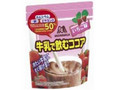 森永製菓 牛乳で飲むココア いちご味 袋150g
