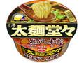 日清 太麺堂々 香油焦がし味噌仕立て カップ100g