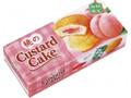 ロッテ 桃のカスタードケーキ 箱6個