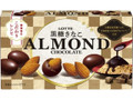 ロッテ アーモンドチョコレート 黒糖きなこ 箱74g