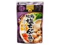 Mizkan 〆まで美味しい 地鶏塩ちゃんこ鍋つゆ 袋750g