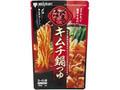 ミツカン 〆まで美味しい キムチ鍋つゆ ストレート 袋750g