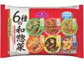 トップバリュ 6種の和惣菜 袋15g×6