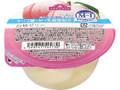 トップバリュ オリゴ糖+M-1乳酸菌配合 白桃ゼリー カップ180g