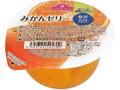 トップバリュ おいしさと糖質のバランス みかんゼリー カップ180g