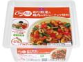 トップバリュ 彩り野菜と鶏肉のカシューナッツ炒め