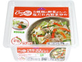 トップバリュ 5種類の野菜が入った塩だれ肉野菜炒め