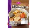 トップバリュ 彩り豊かな 野菜の炊き合わせ 袋120g