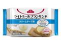 トップバリュ ライトミールブランサンド クリームチーズ味 袋4枚