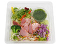 ミニストップ 有機小松菜入りドレで食べるサラダ