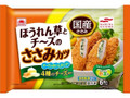 あけぼの Let's ベジランチ ほうれん草とチーズのささみカツ 袋6個