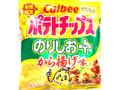 カルビー ポテトチップス のりしお+から揚げ味 袋55g