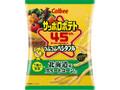 カルビー サッポロポテト つぶつぶベジタブルLONG 7種の野菜+北海道産スイートコーン 袋60g
