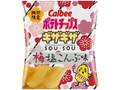 カルビー ポテトチップス ギザギザ 梅塩こんぶ味 袋58g
