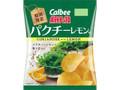 カルビー ポテトチップス パクチーレモン味 袋70g