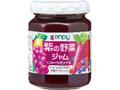 kanpy 紫の野菜ジャム フルーツミックス 瓶145g