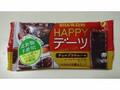ユーハ味覚糖 HAPPYデーツ チョコブラウニー 4本