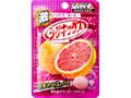 UHA味覚糖 激シゲキックス 極刺激ルビーグレープフルーツ 袋20g