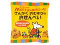 創健社 メイシーちゃんのおきにいり さんかくおむすびのおせんべい しょうゆ味 国内産のお米使用 袋35g