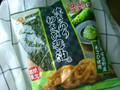 コイケヤ コーンスナック 焼きのりわさび醤油味 90g