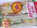 ローソンストア100 ポテトサラダサンド 1食