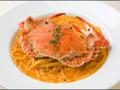 神戸にんにくや ワタリガニのスパゲッティ