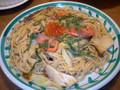 ジョリーパスタ サーモンと長ネギといくらの醤油ソース 1食