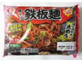 シマダヤ 焼そば鉄板麺 お好みソース味 袋434g