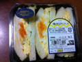 食遊館 半熟と和え玉子サンドイッチ パック3個