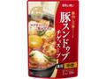 モランボン 韓の食菜 豚スンドゥブチゲ用スープ 袋330g