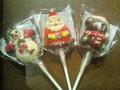 西本貿易 クリスマス ロリポップチョコレート