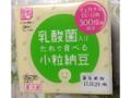 小杉食品 乳酸菌入りたれで食べる小粒納豆 パック35gX3